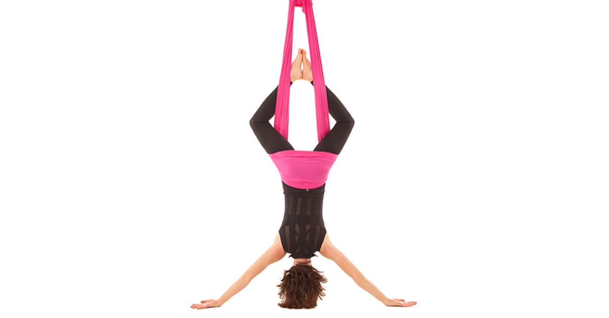 Free Floating Aerial Yoga